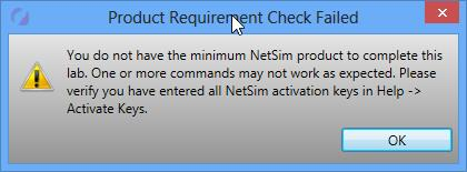Courseware Lab Pack for NetSim Questions