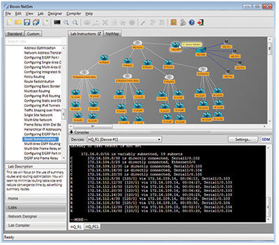 Cisco Network Simulator | NetSim